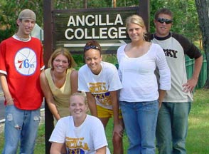 Ancilla College is a 2 year liberal arts college sponsored by the Poor Handmaids of Jesus Christ