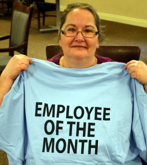 Catherine Kasper Home Employee of the Month